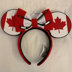 Canada Minnie ears from EPCOT